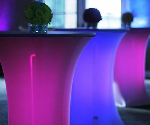 Colorful Party Tables