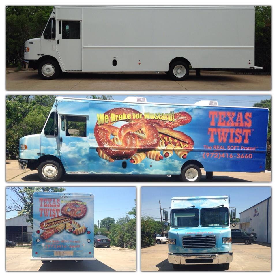 Texas Twist Vehicle Wrap