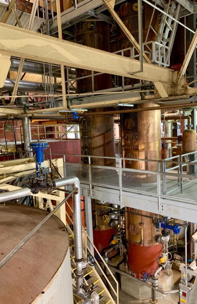 Four Roses Distillery Column Stills
