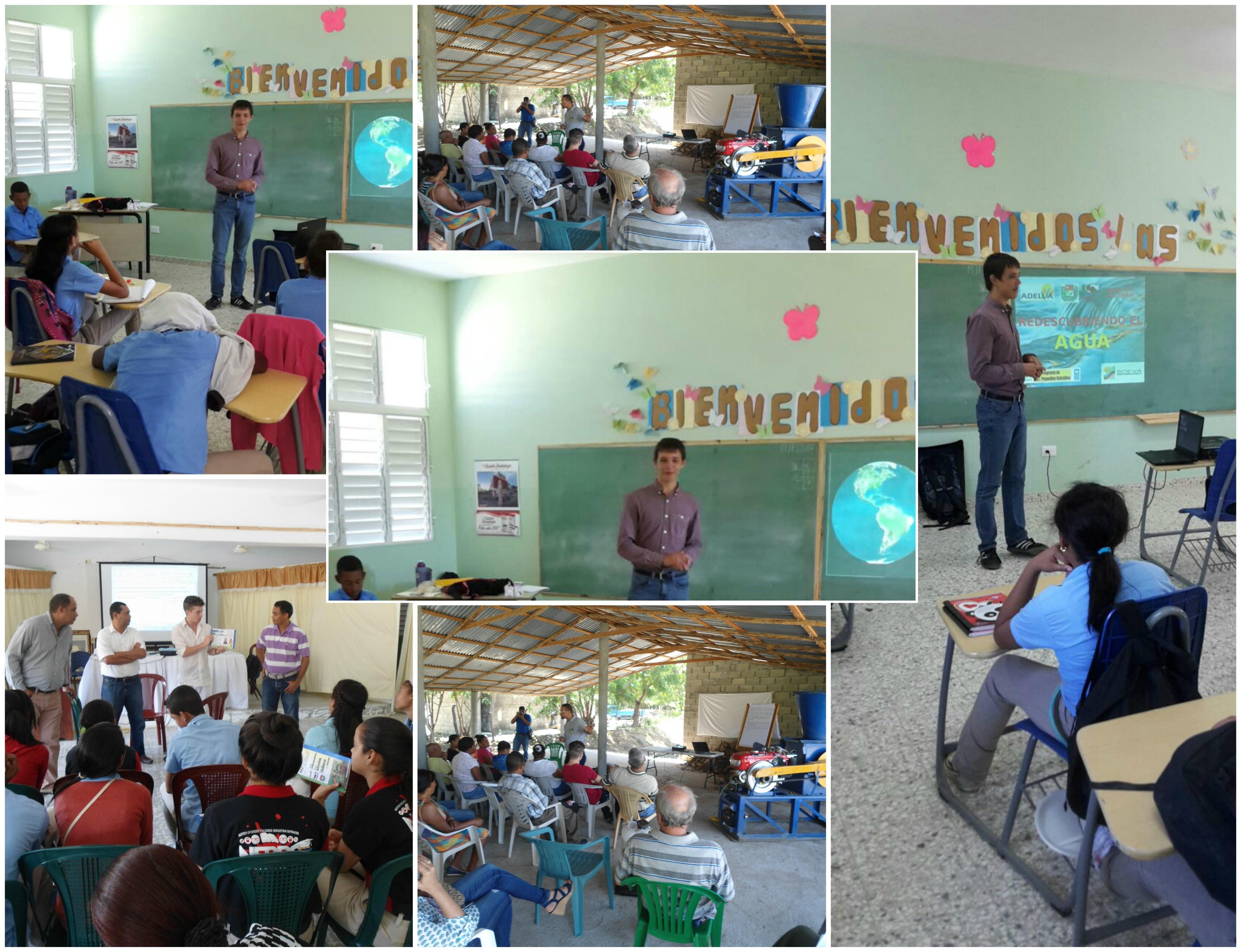 Jornadas de educación ambiental con el apoyo de un voluntario de ecoselva e.V.