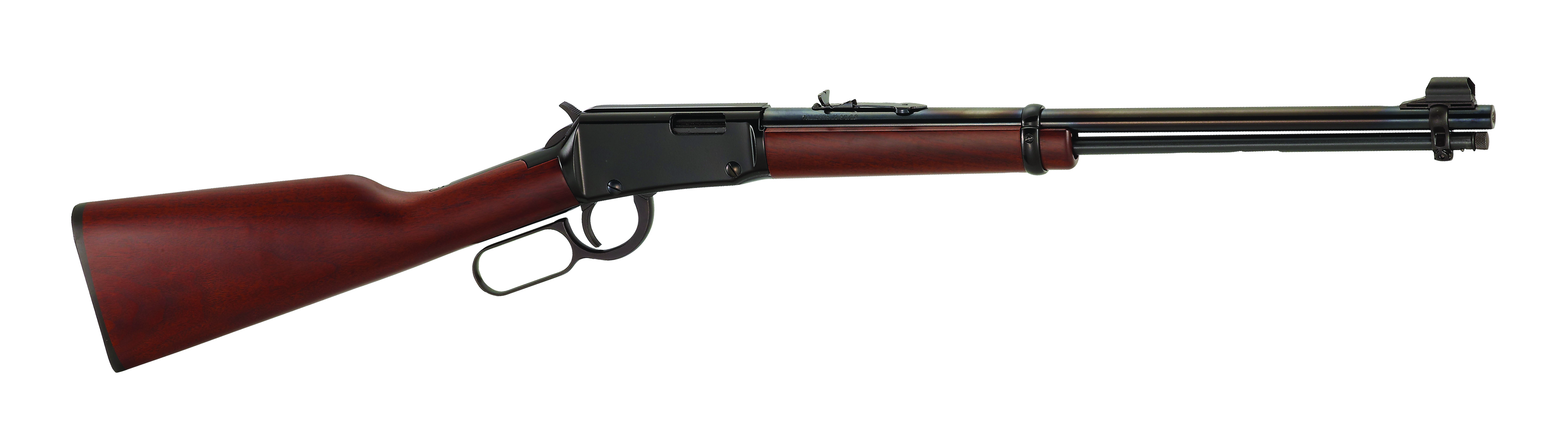 """Henry Lever Action .22 S/L/LR 18.25"" Round Blued Steel Barrel"