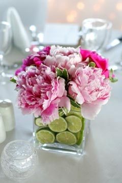 Flower with Fruit Centerpiece