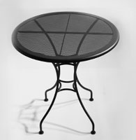 Mesh Top Tables