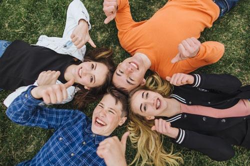 Happy Adolescent