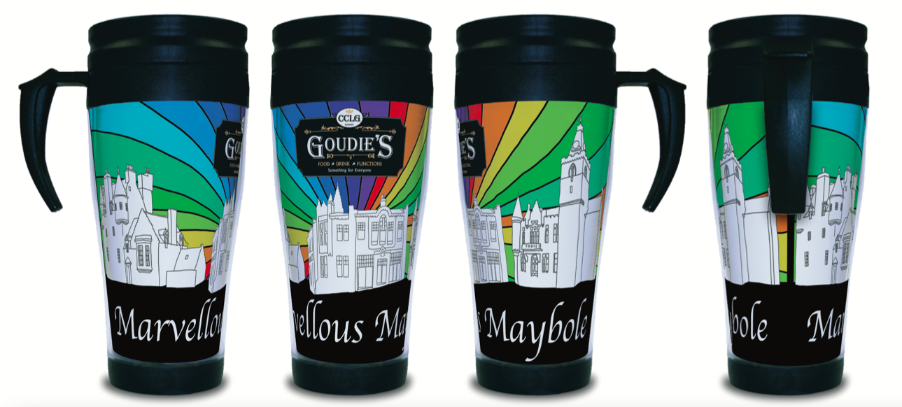 Goudies Coffee-To -Go Cup