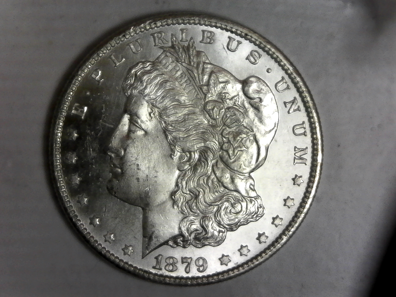 Click on Morgan Silver Dollar for Online Inventory