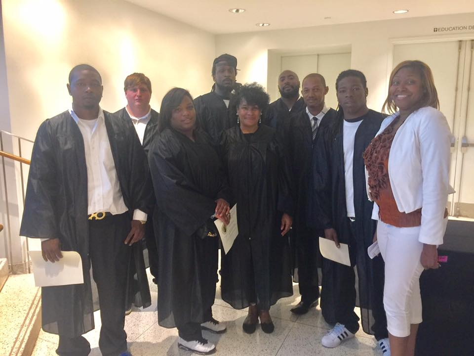 Graduates With Tawanna Morton