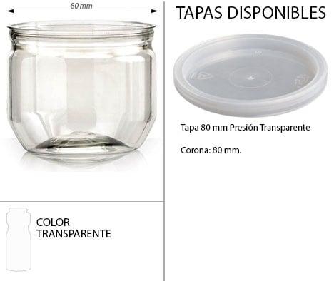 TARRO 250 ML CIL. PRESION