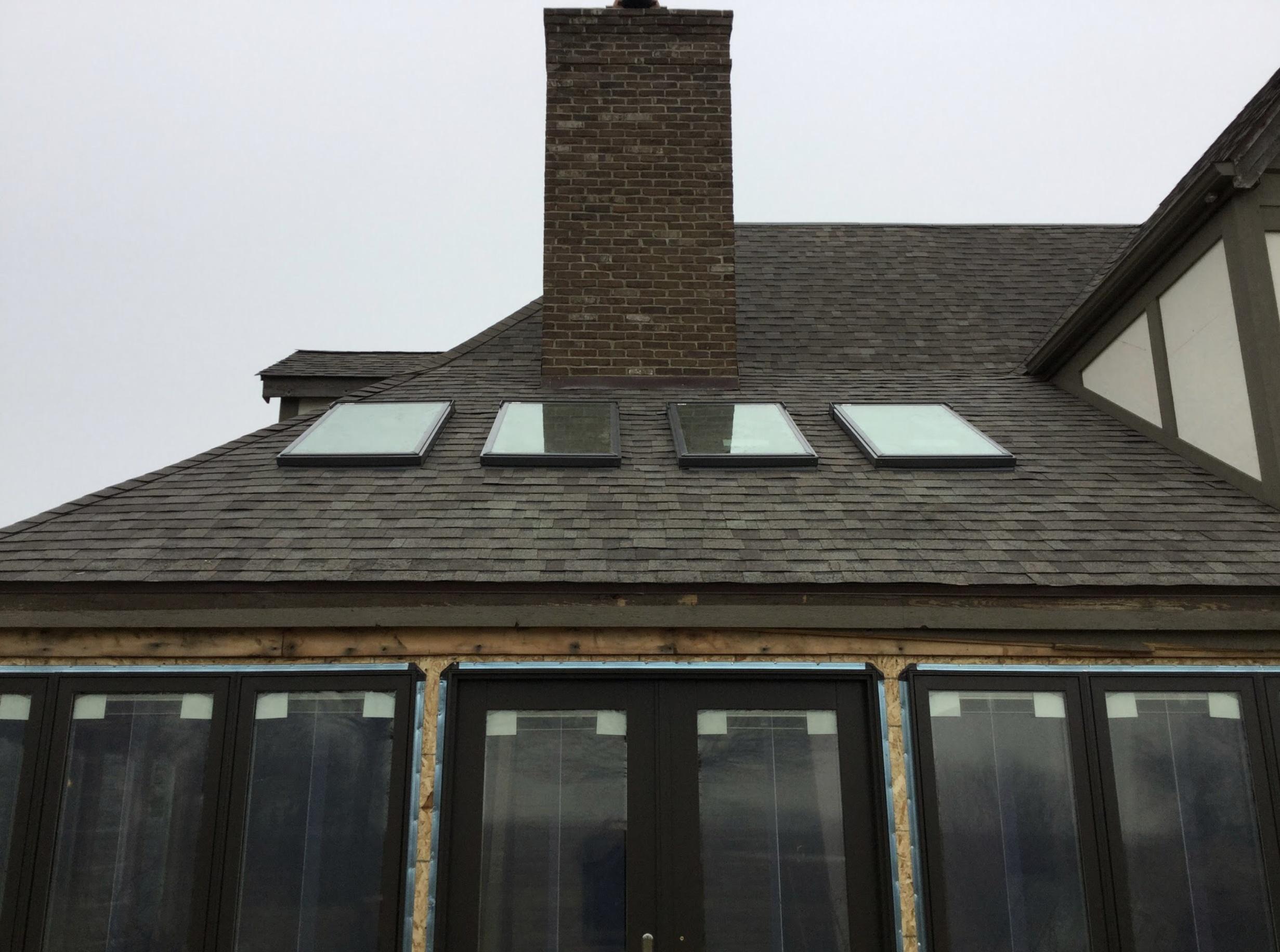 Napoleon Ohio Skylight installation December 2016