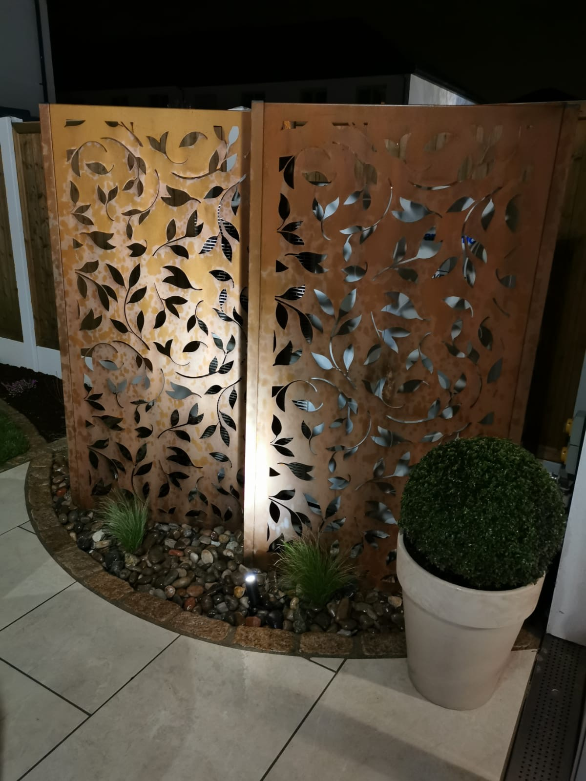 Decorative Corten Steel Panels
