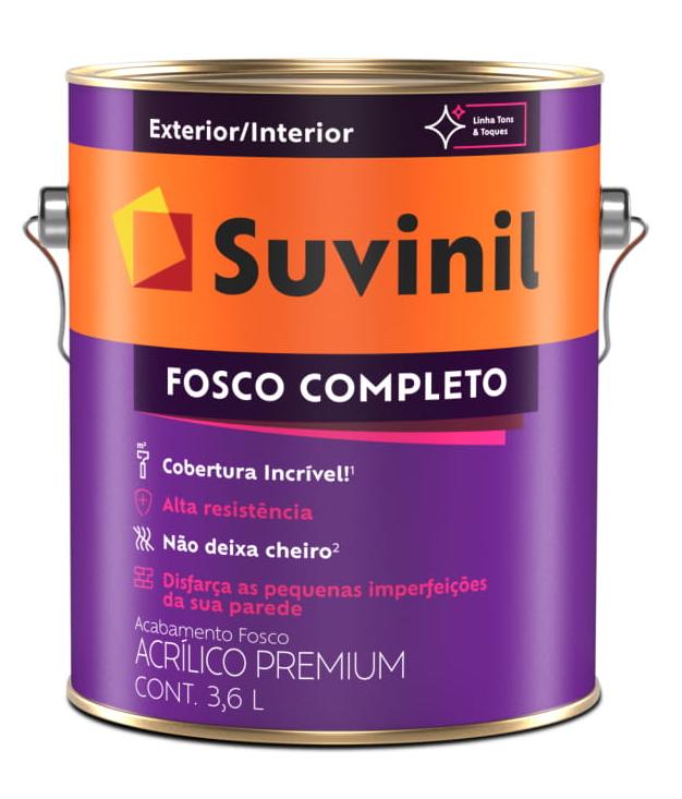 ACRÍLICO FOSCO COMPLETO TINTA ACRÍLICA PREMIUM