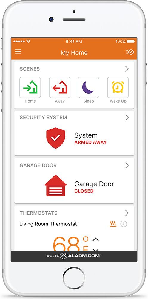 Resi Dashboard on iPhone