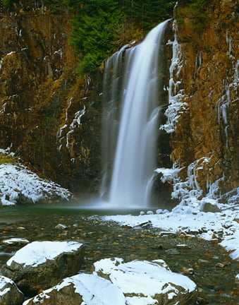 Franklin Falls, Snoqualmie, Cascade Mountains, WA WA