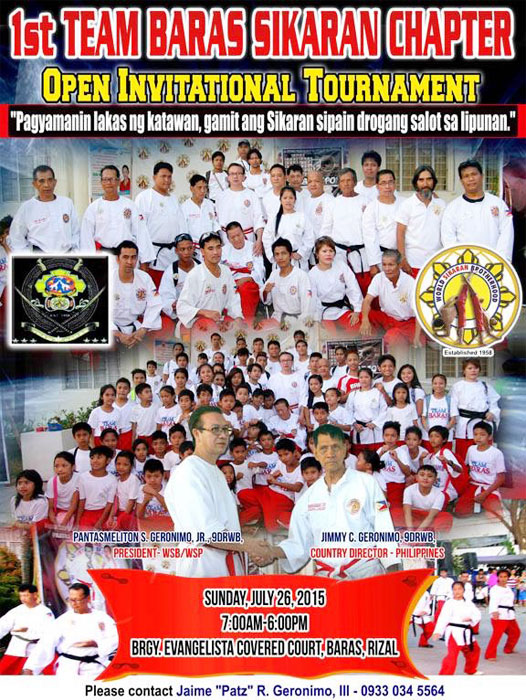 Martial Arts Tournament Poster