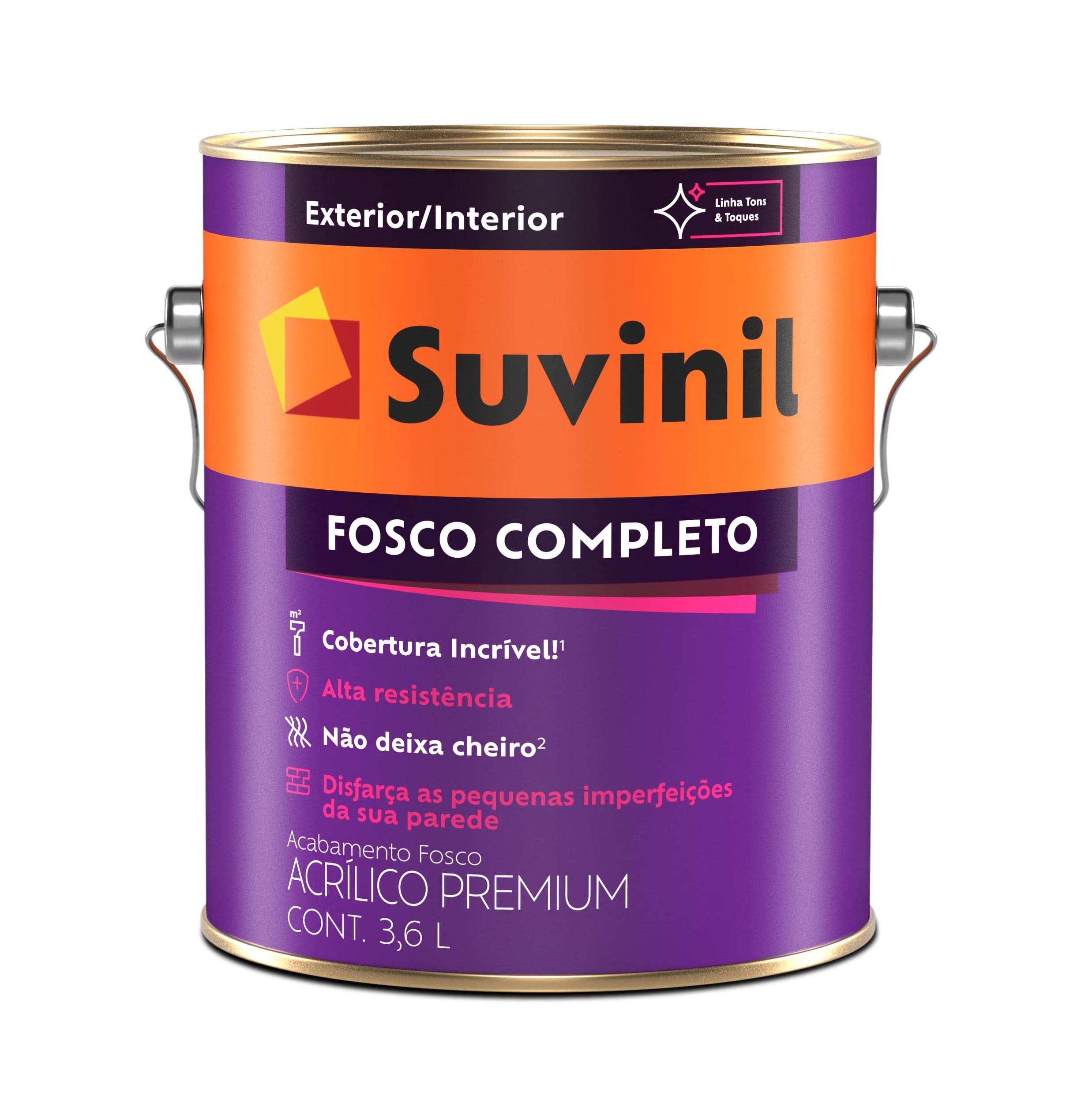TINTA ACRÍLICA PREMIUM FOSCO COMPLETO SUVINIL