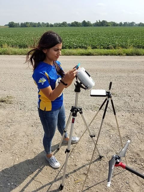 Field Day 2018 Hyperspectral Sensor