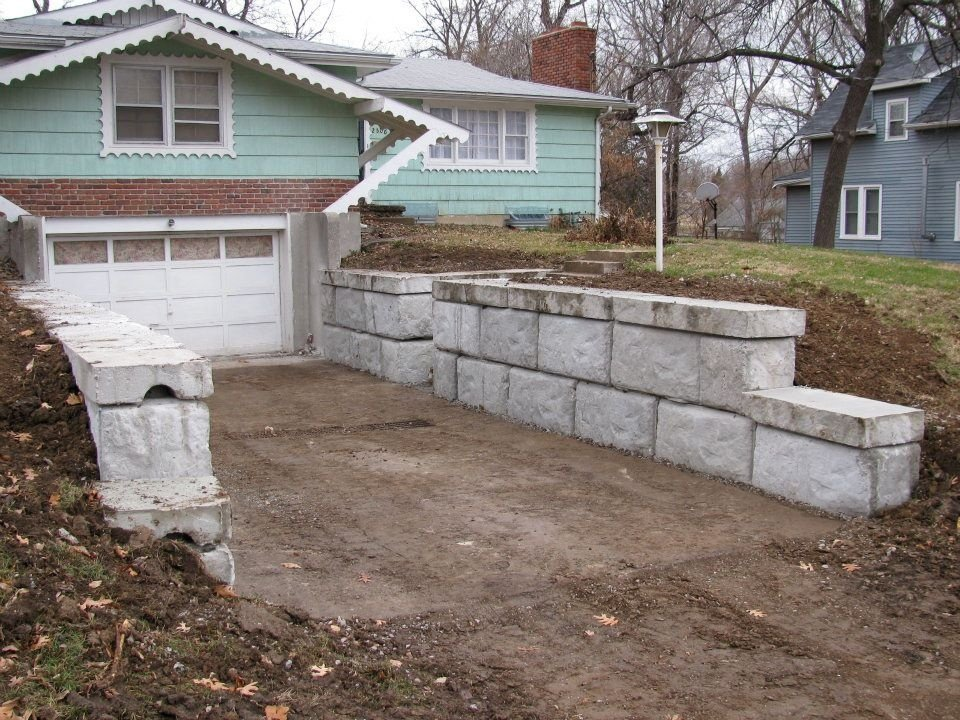 Structural Retaining Wall 2