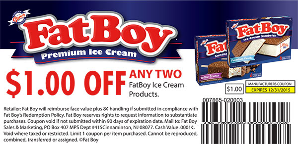 Fat Boy Premium Ice Cream