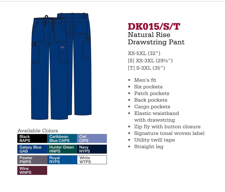 Pantalón con Cordones de Levantamiento Natural. DK015/S/T.