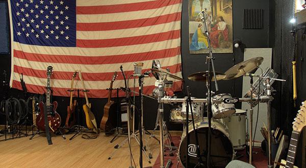 Interior of the Recording Studio 3