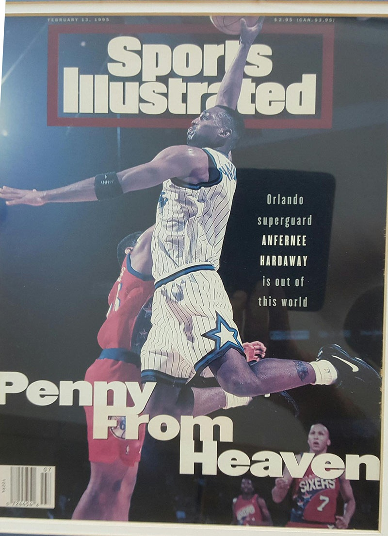 Penny Hardaway on Sports Illustrated