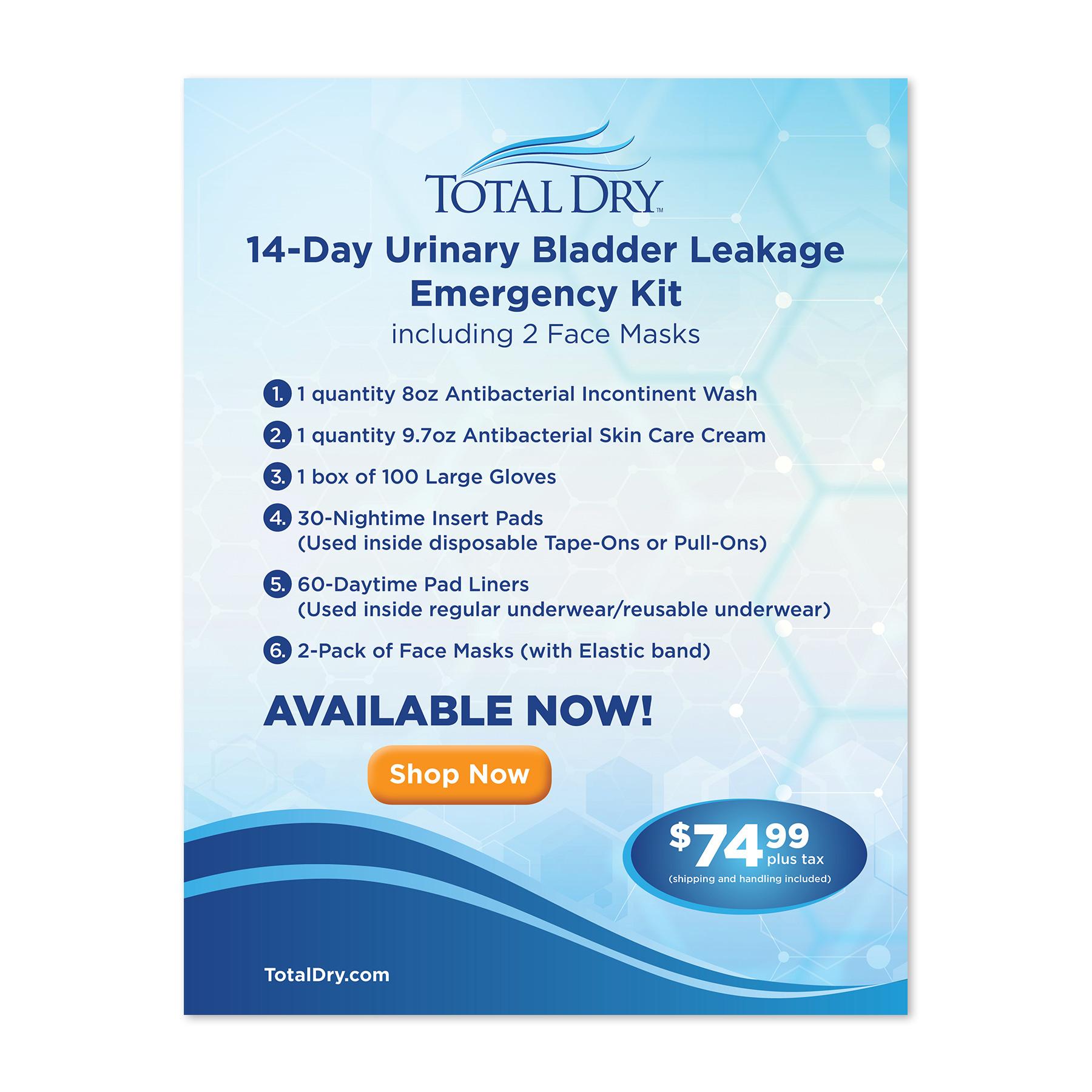 Total Dry Emergency Kit Sell Sheet