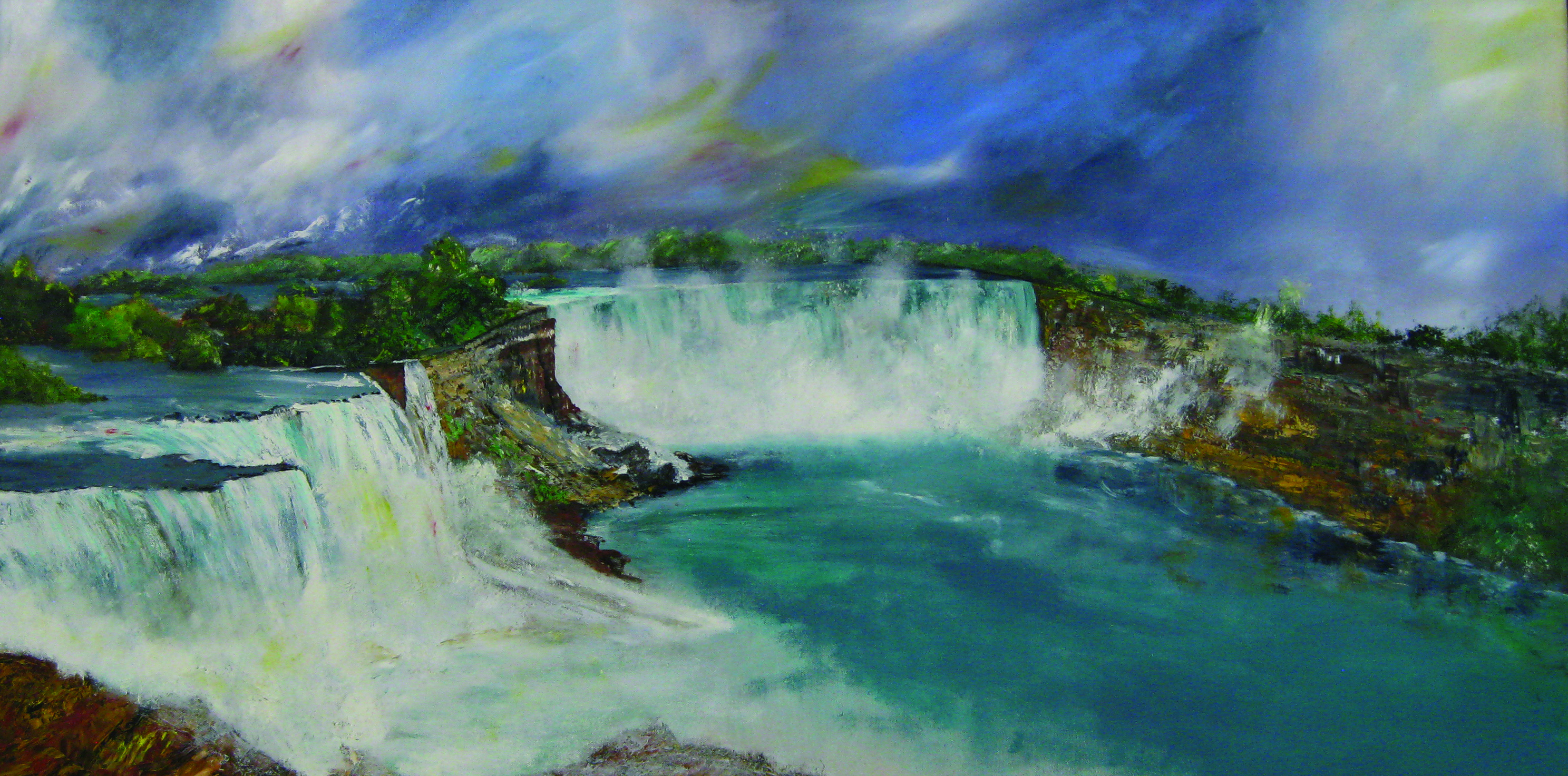 Estevez, Niagra Falls