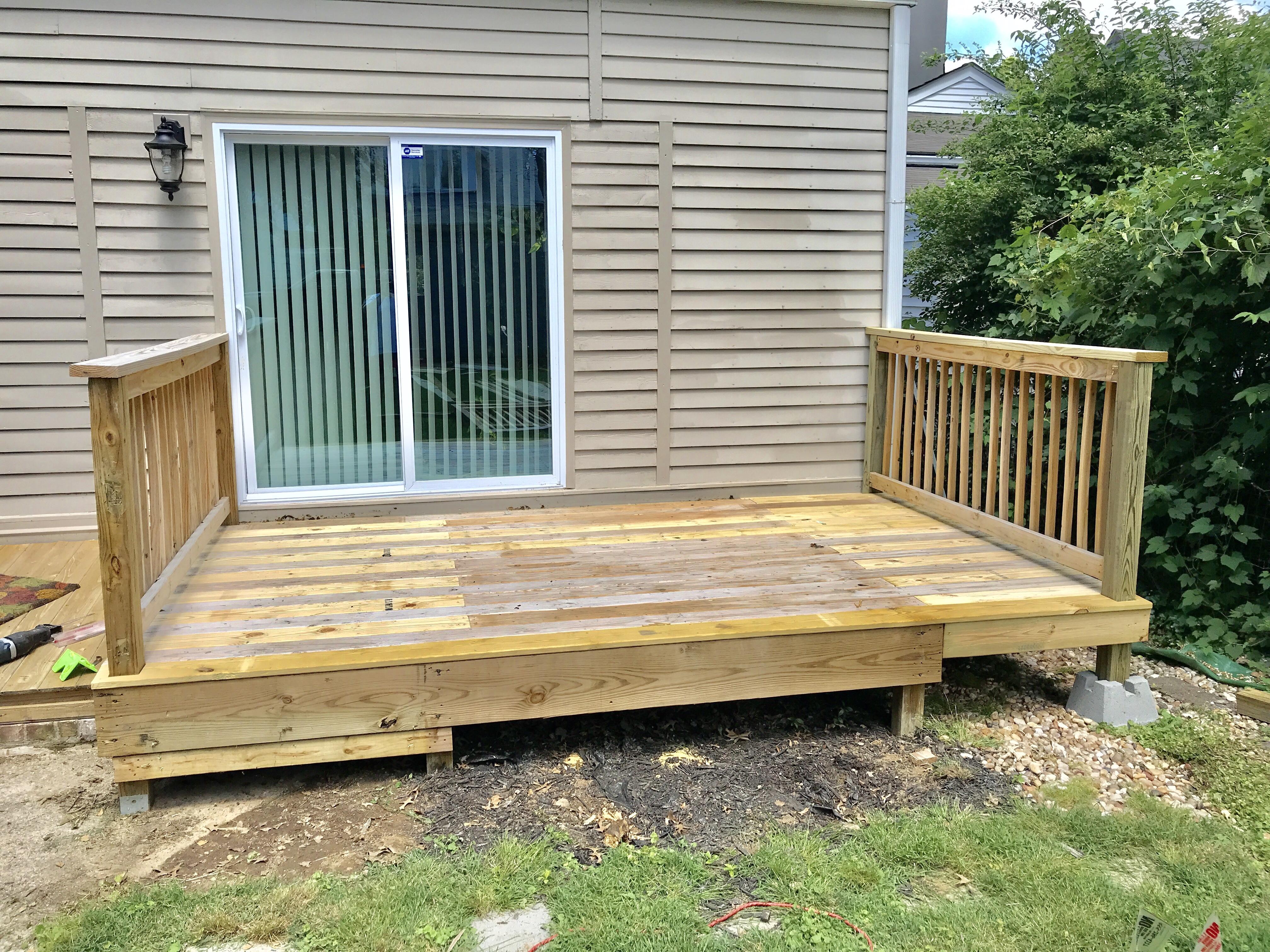 Deck Build (In Progress)