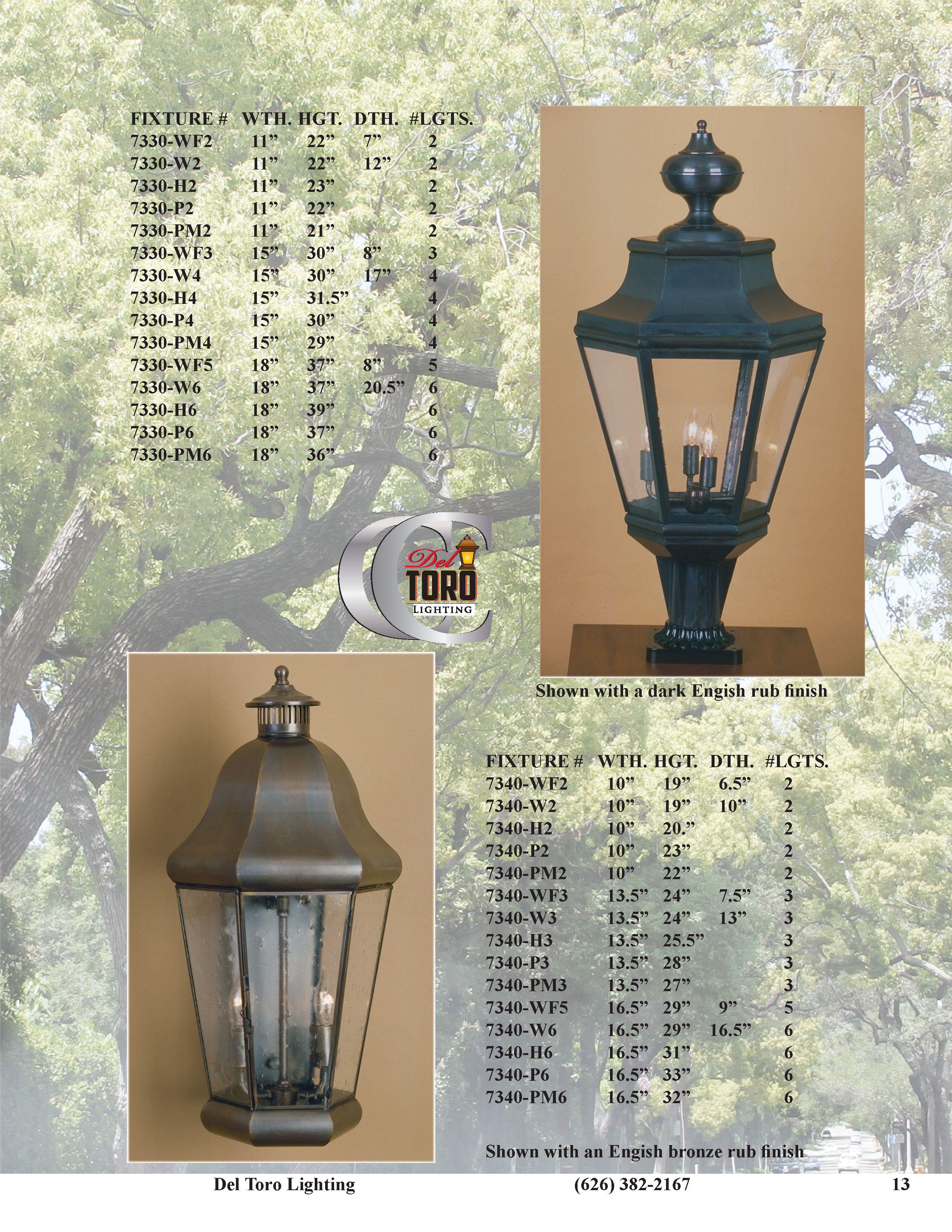 del toro lighting classic catalog