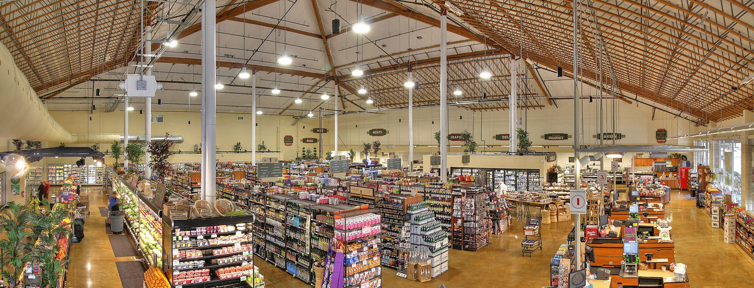 Supermarket Ceiling