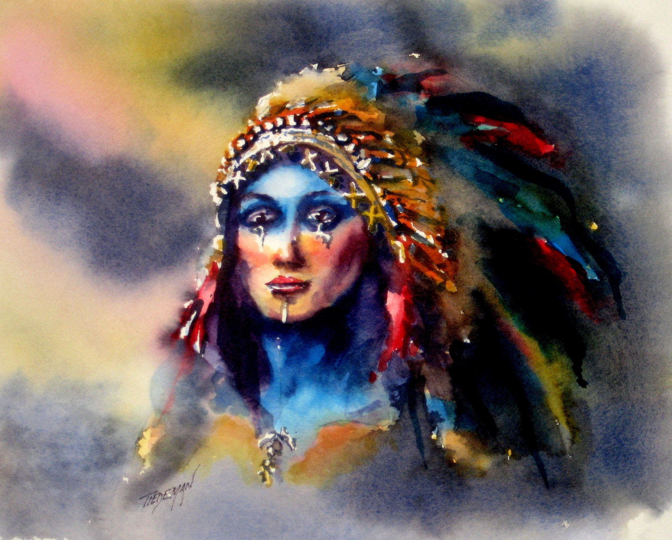 Female Native American