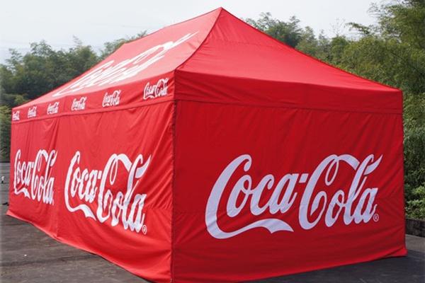 Coca-Cola Tent