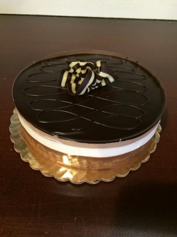 Tri Color Mousse Cake