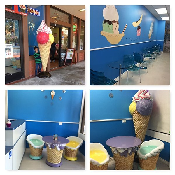 Frozen Café | Ice Cream Shop