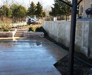 Concrete Outdoor Area