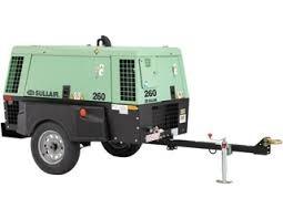 Compresor Sullair  260 CFM Motor Caterpillar CA3.4 A 100PSI ,Equipo Nuevo ¡ENTREGA INMEDIATA!