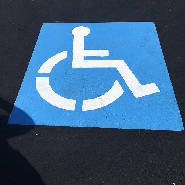 Parking Markings Handicap Installation