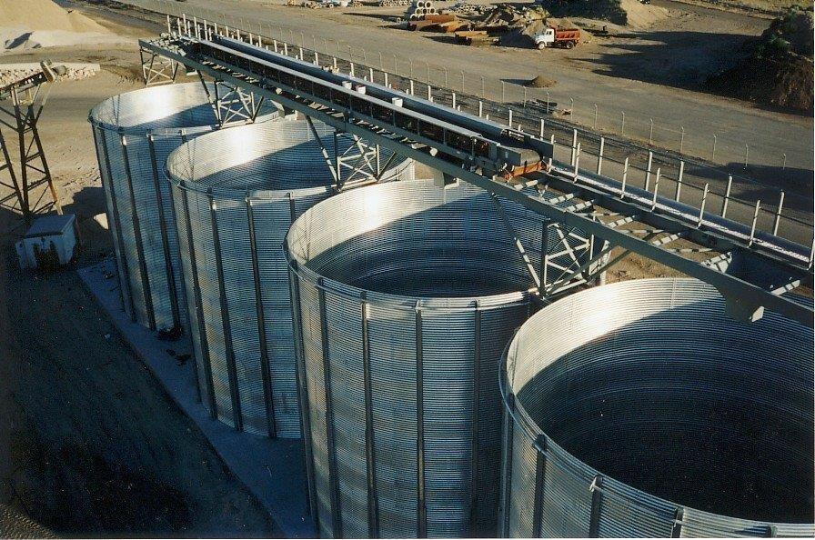 SCAFCO Aggregate Storage Silos