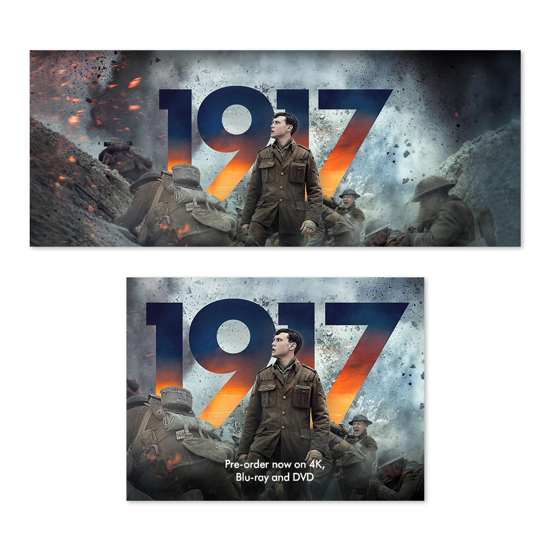 1917 Amazon Digital Banners