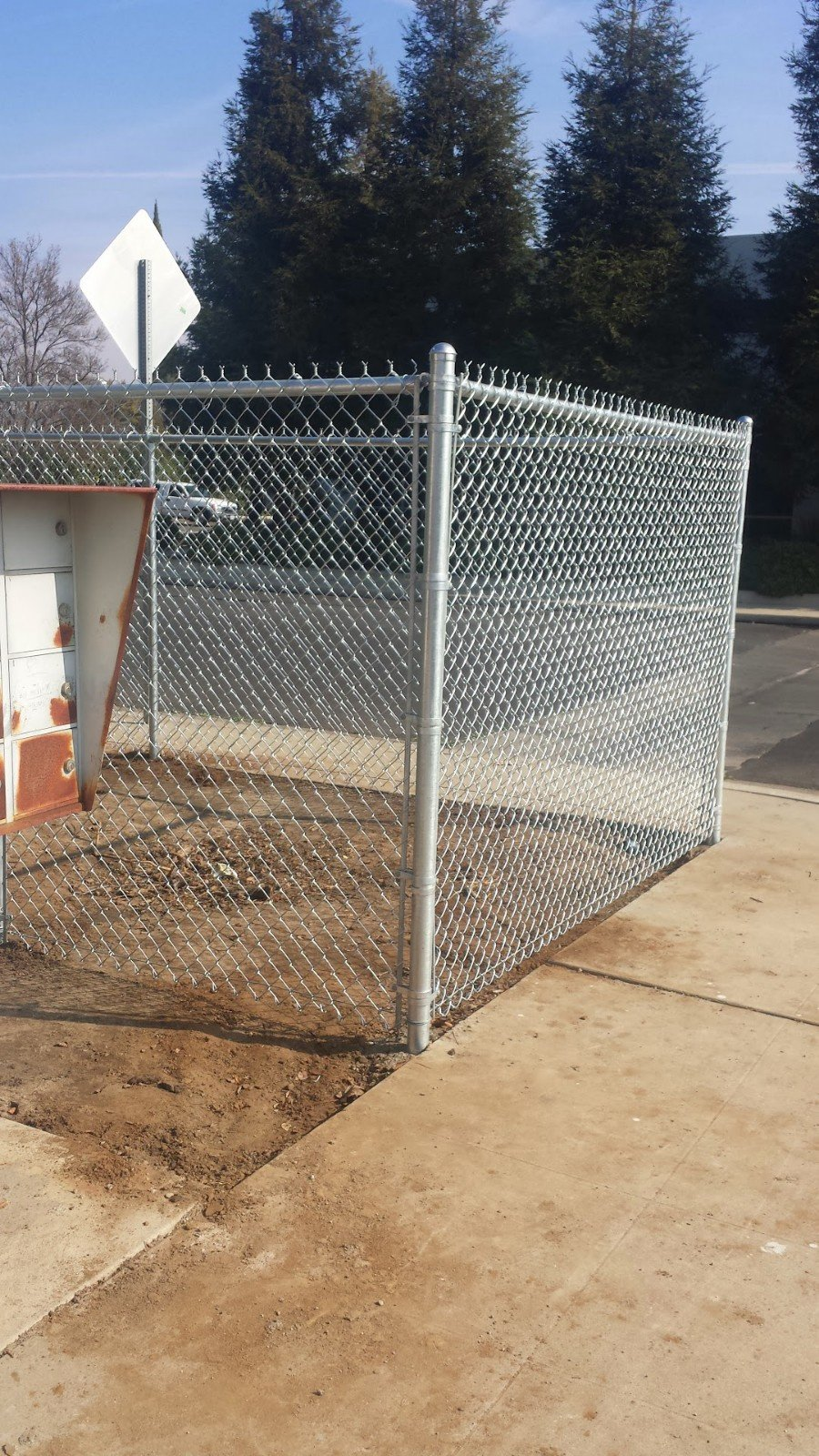 Chain-Link Fencing – Limited Space