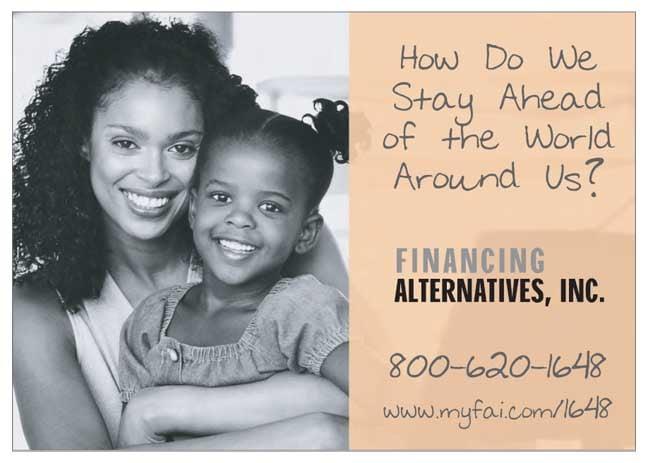 Financing Alternatives, Inc. 1