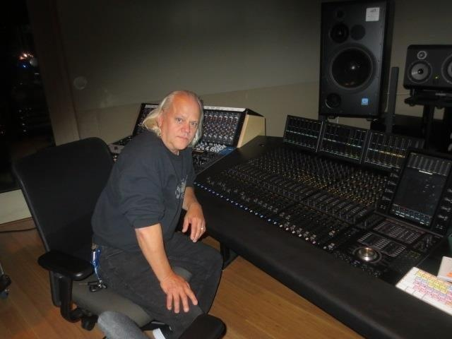 Jon at Sweetwater Mastering room