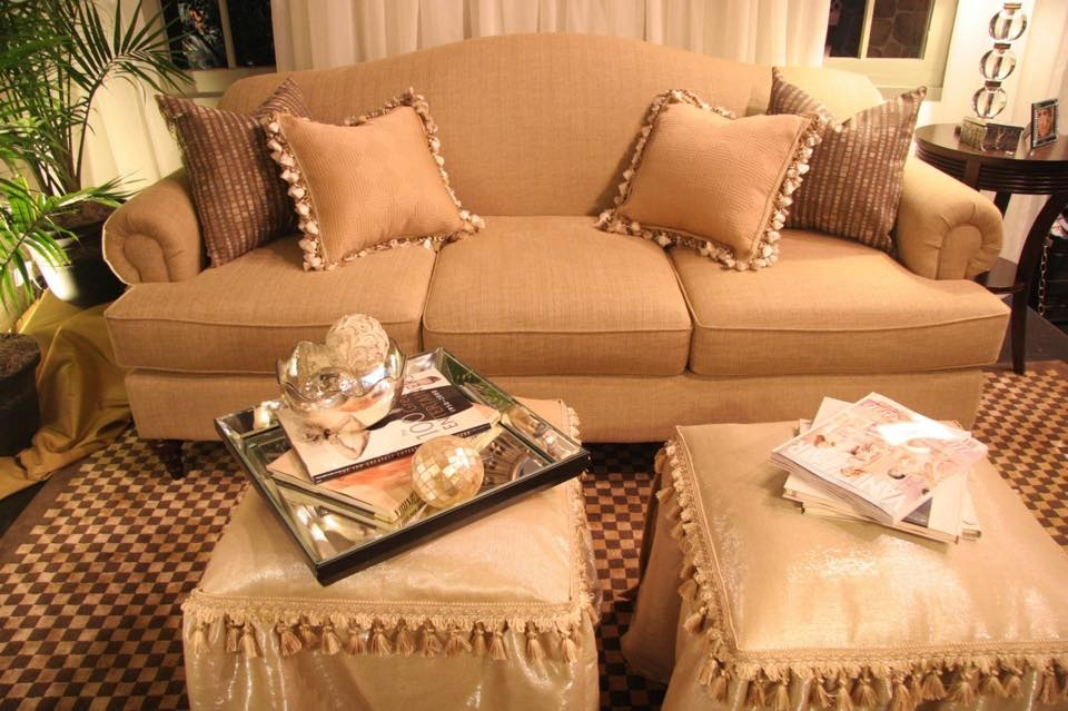 Beige Couch and Design