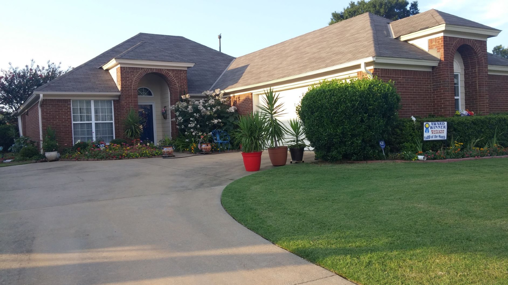 June 2019 Yard of the Month