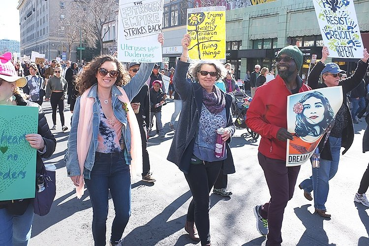 Independent hometown community newspapers san leandro thousands march fandeluxe Choice Image