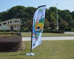 Feather Flags with YOUR message or Logo