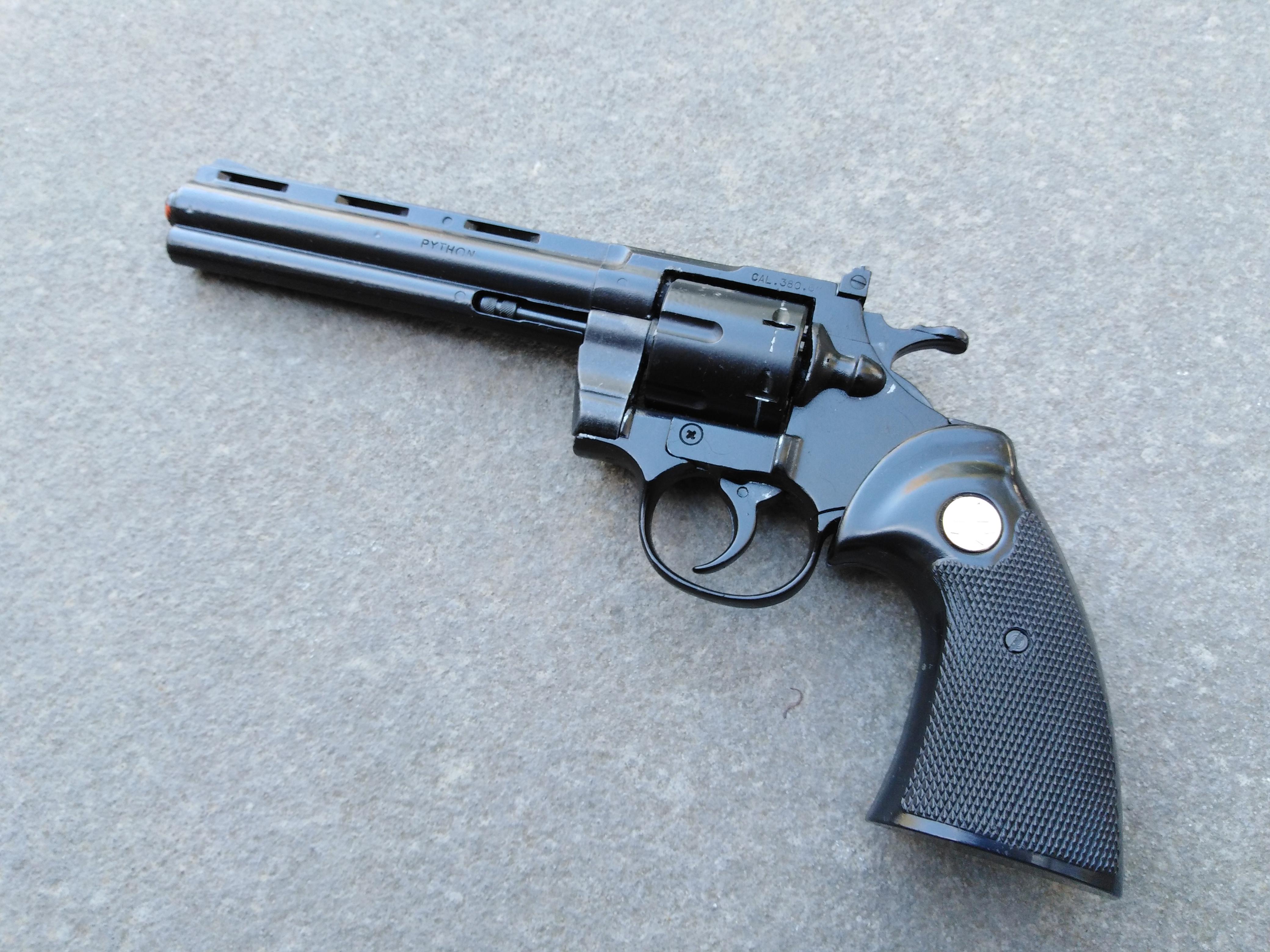 Colt Python 9mm Blank
