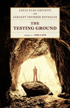 """The Testing Ground — The Cave"" book cover"