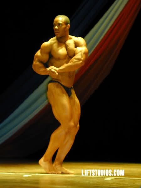 First Bodybuilding Contest