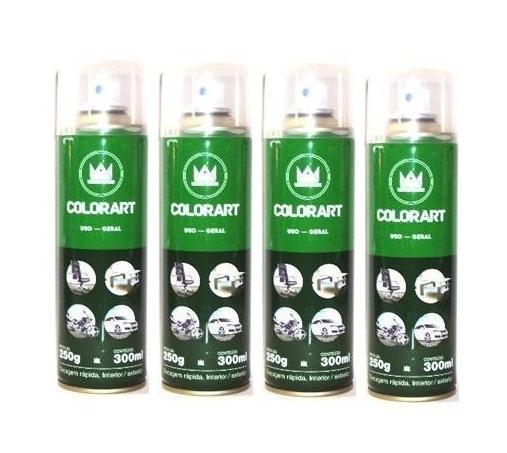 Spray Verniz Acrílico Fosco e Brilhante Secagem Rápida, Interior/Exterior